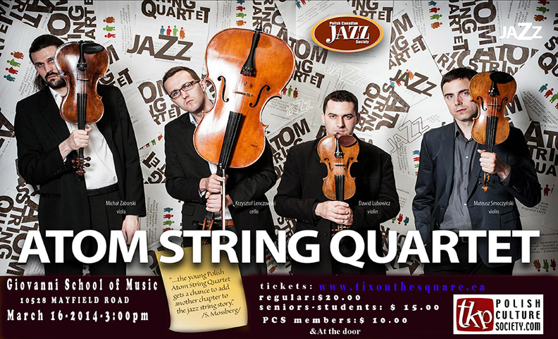 Atom-String-Quartet