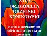 PAINT AFTERNOON WITH Dr. IZABELLA ORZELSKI-KONIKOWSKI
